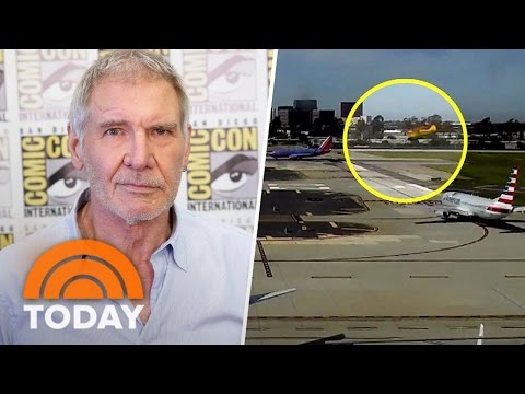 New Video Shows Harrison Ford's Near Miss Of American Airlines 737 | TODAY