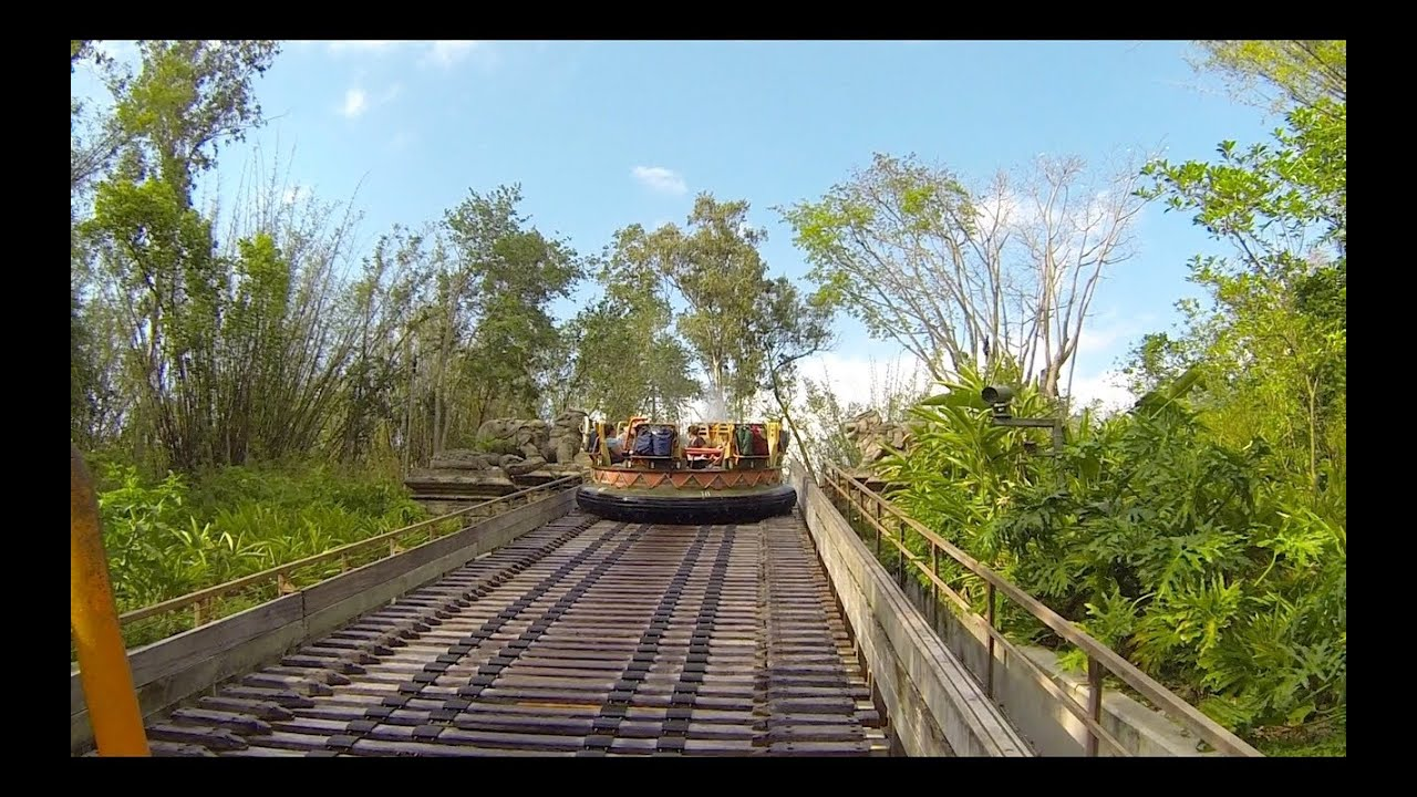 Kali River Rapids On Ride POV Disneys Animal Kingdom Walt Disney World HD 1080p