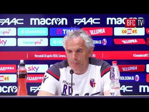 #SampdoriaBFC: la conferenza pre-partita di Donadoni