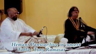 Hemant Panwar singing Bhajan  in praise of  Lord Hanuman