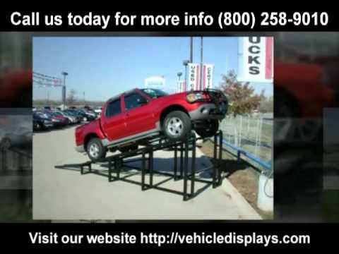 "Car display ramps for sale 800-258-9010 ""car display ramp for sale"""