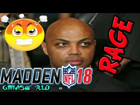 """Where does EA find these """"Turrible""""(Charles Barkley Voice)Madden 18 Players? MUTDrafts Gameplay"""