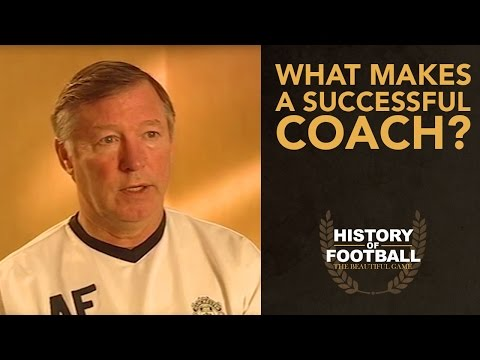 Sir Alex Ferguson On Making A Successful Coach | Interview with History Of Football
