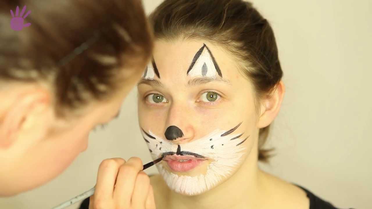 Malowanie Buziek Malowanie Twarzy 7 Kot Youtube