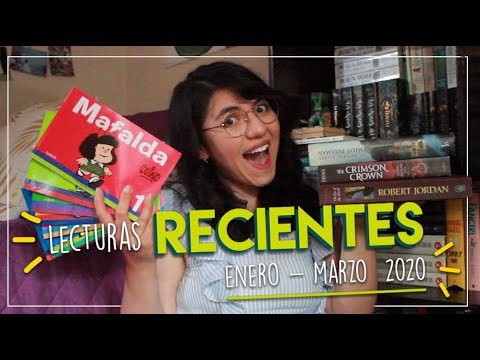 Lecturas RECIENTES 📚 | ✨Wrap Up ENERO - MARZO 2020 ✨ from YouTube · Duration:  13 minutes 44 seconds