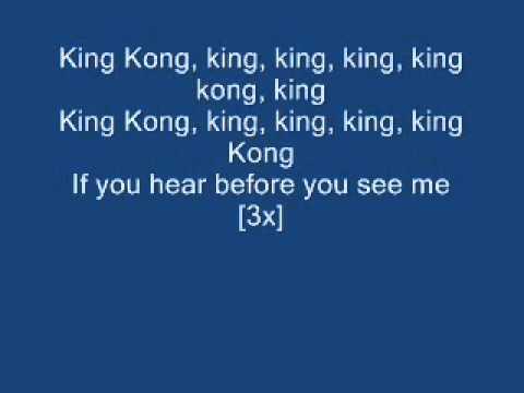 King Kong Lyrics