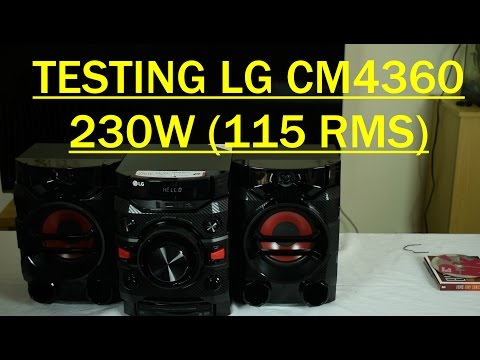 LG CM4360 230W Mini Hi Fi System Review