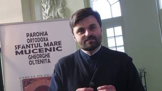 Expozitie de icoane la Oltenita, Parintele Bogdan Cipleu