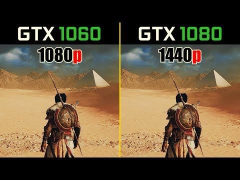 GTX 1060 vs. GTX 1080   1080p vs. 1440p (Test in 9 Games)