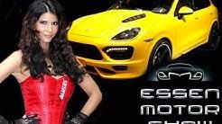 Essen Motor Show 2011 mit Micaela Schäfer
