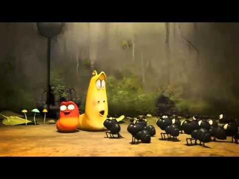 Hoạt hình Larva - Đụng độ bầy kiến