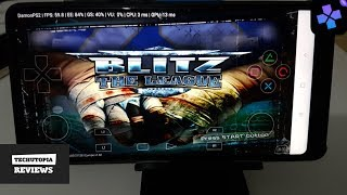 Blitz: The League DamonPS2 Pro PS2 Games on smartphones/Android/Gameplay