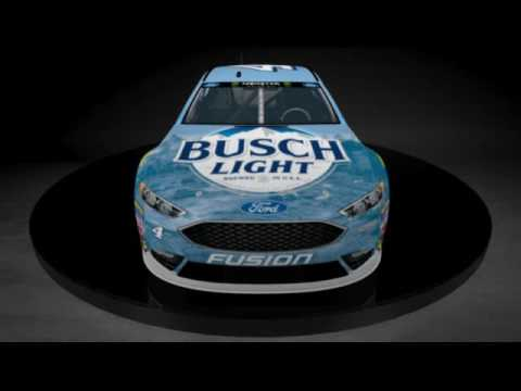 2017 No 4 Busch Light Ford Fusion Youtube
