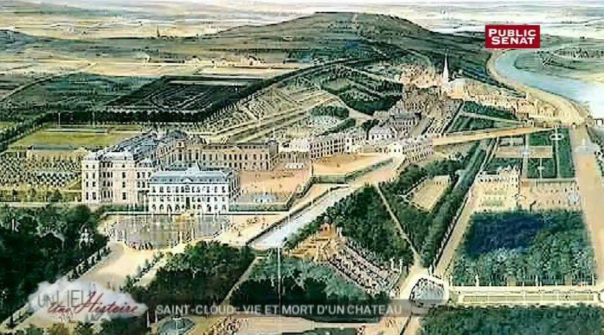 Fabuleux Le château de Saint-Cloud - Un lieu, une histoire (08/01/2013  FL86