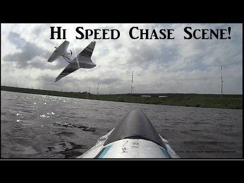 High Speed Skipper Chase Scene Over Water! Head Tilting Excitement!