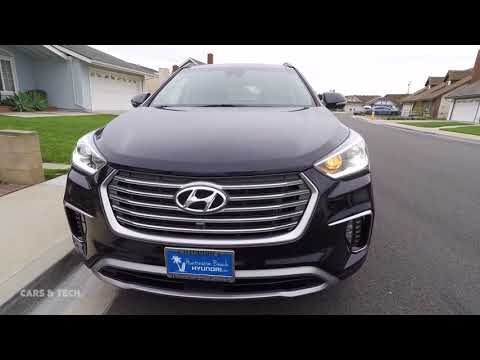 2017 / 2018 Hyundai Santa Fe - 10 cool features