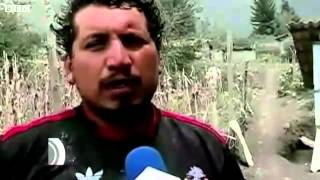 BBC News   Ecuador #039 s Tungurahua volcano spews lava and rocks mp4