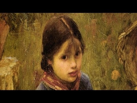 John William WATERHOUSE -(1849-1917)-Artiste Peintre-Painter-Artist-(Musique:BEETHOVEN-Monlight)