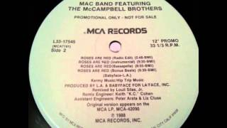 Mac Band Feat. The McCampbell Brothers - Roses Are Red (Bassapella)