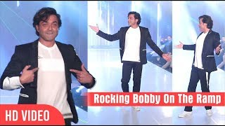 """""""Bobby Deol"""" Turns Showstopper at """"Tech Fashion Tour 2018"""" 