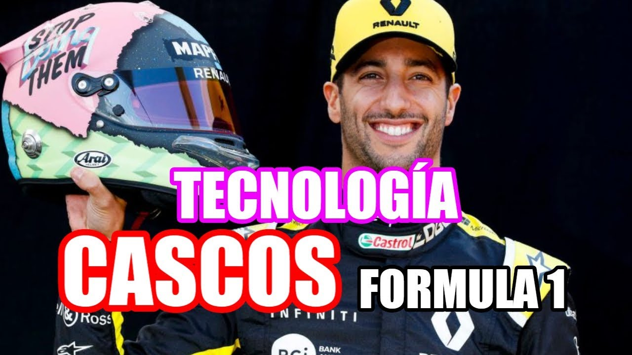 ???? ¿Cómo es un CASCO de FORMULA 1? ✅ *Tecnología, Historia y Partes* ???? [FIA] [F1]