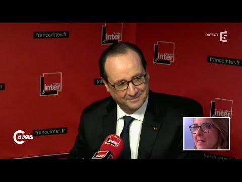 Charline Vanhoenacker revient sur sa déclaration d'amour à François Hollande - C à vous - 05/01/2015