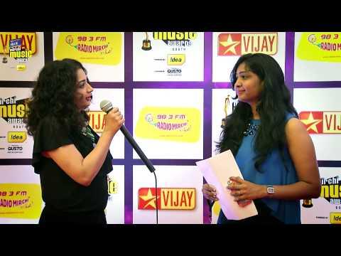 Singer Anupama - Mirchi music awards south 2014