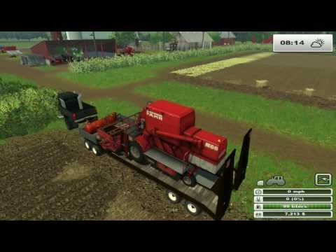 Farming sim Saturday Old family farm on hard day 3