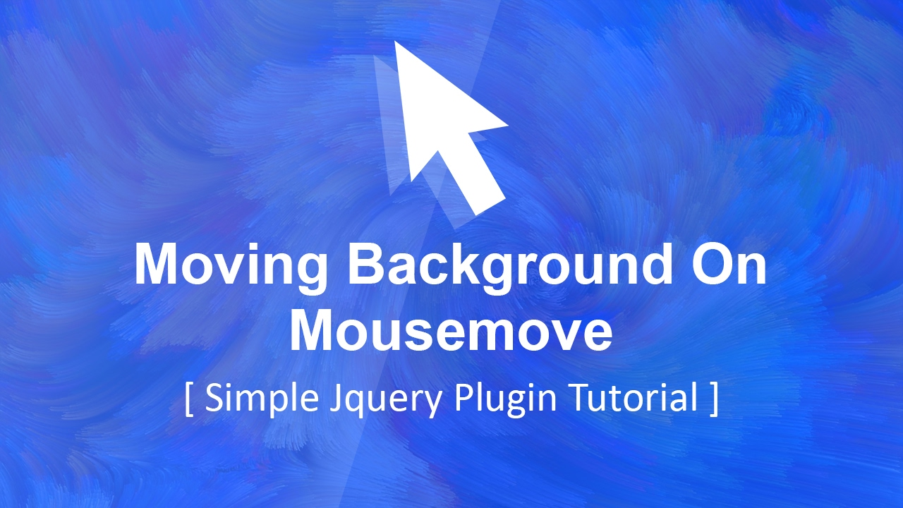 moving background image on mousemove - Jquery Tutorial - Plz SUBSCRIBE Us  For Daily Videos