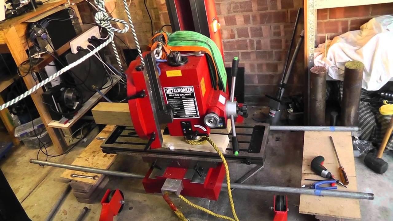 sieg sx4 mill cnc conversion part 1 youtube rh youtube com CNC Mill Sieg Mill X4