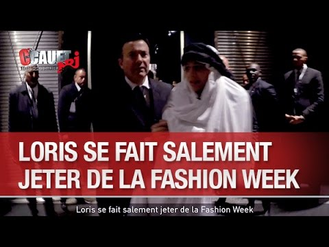 Loris se fait salement jeter de la Fashion Week - C'Cauet sur NRJ