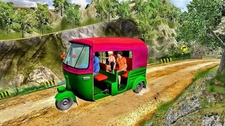 Mountain auto Tuk Tuk Rickshaw: new game 2020 round 6to10  #5 screenshot 2