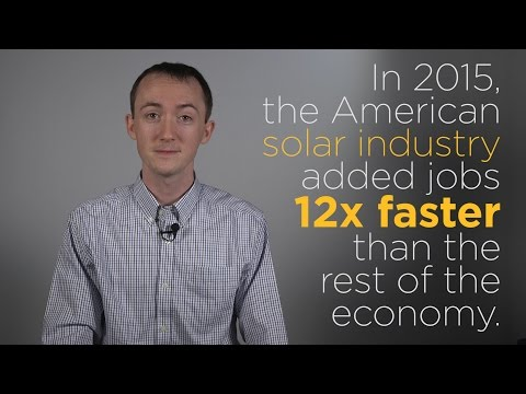 The Solar Industry Is Driving The U.S. Economy