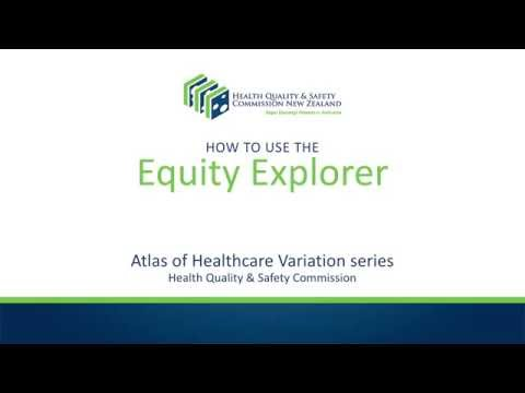 How to use the Equity Explorer