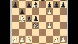Amazing chess game known as: The skewer lure