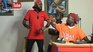 Chief Imo Studio etibert ready to mix music for him - Chief Imo Comedy