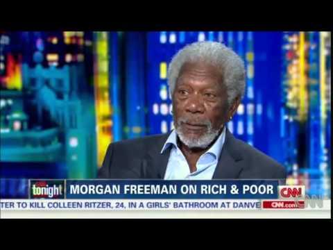 Morgan Freeman on rich and poor