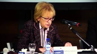 Helena Valkova: Inaugural Speech. 6th IJJO Conference. Brussels 2014. English Audio.
