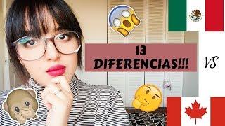 Vivir en Canada! | 13 DIFERENCIAS | Como es vivir aqui! Mexico vs Canada