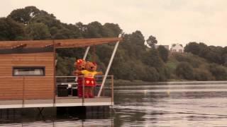 Ecolac - Chalet sur l'eau au Camping au Bocage du Lac