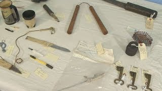 Makeshift weapons, tools offer glimpse of life inside Stillwater Prison