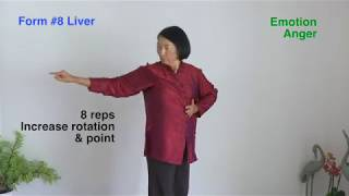 FIVE ORGANS QIGONG: Liver Form #8, Wisdom Qigong, Level III