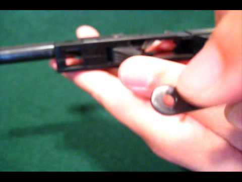 Walther P22 Slide Stop Lever Malfunction and Detailed Take Down