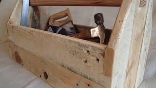 Pallet Wood Toolbox