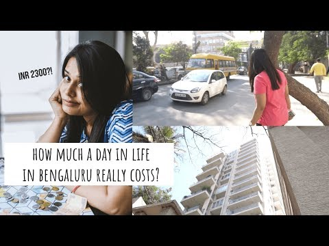 How Much I Really Spend In A Day! | How Much A Day In Life In Bangalore Really Costs?