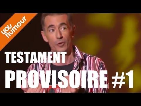 Manuel PRATT, Testament provisoire 1/3