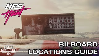 Need for Speed Heat - All 85 Bilboard Locations Guide
