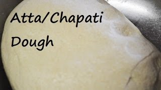 Dough For Roti/chapati (indian Bread) From Punjabi Kitchen