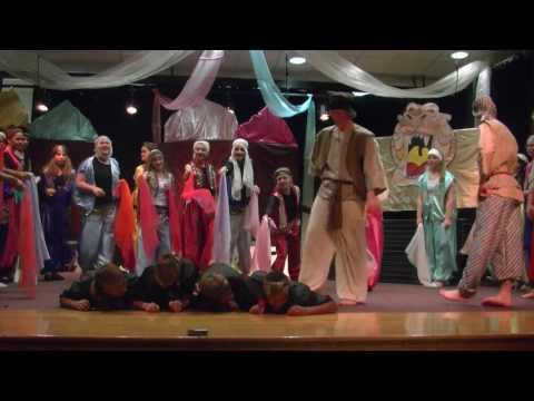 Aladdin Burlington High School WY Musical 2017