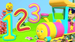 Numbers Train | Children Songs & Nursery Rhymes | Kindergarten Cartoons by Little Treehouse